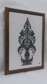 Printed Ceramic (39) Fleur de la Naissance Atelier Khatt