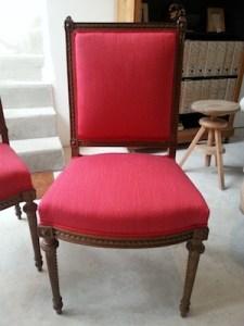 fauteuil tissu Lelièvre