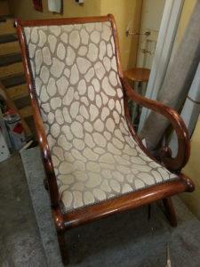 fauteuil, tissu Nobilis