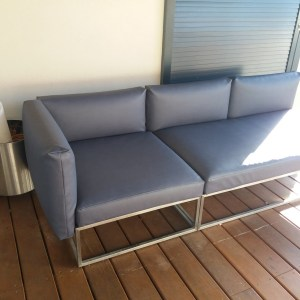 canapé outdoor en simili