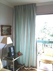 rideaux à plis flamands
