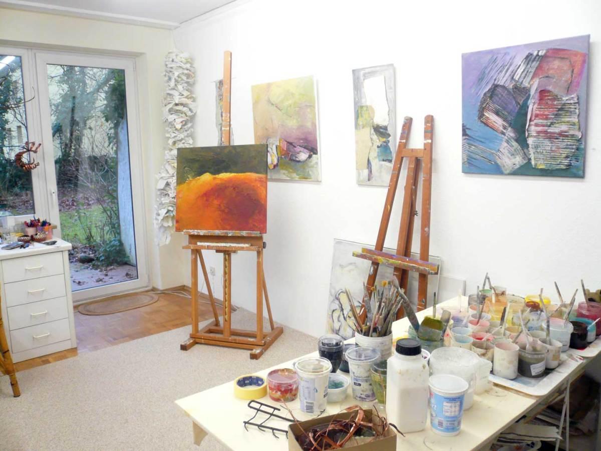 Malkurse Atelier Friederike Thaler