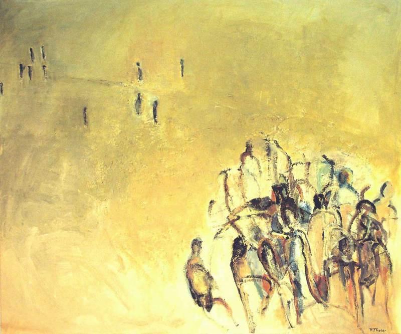 Traum, Acryl auf Leinwand, 130x110