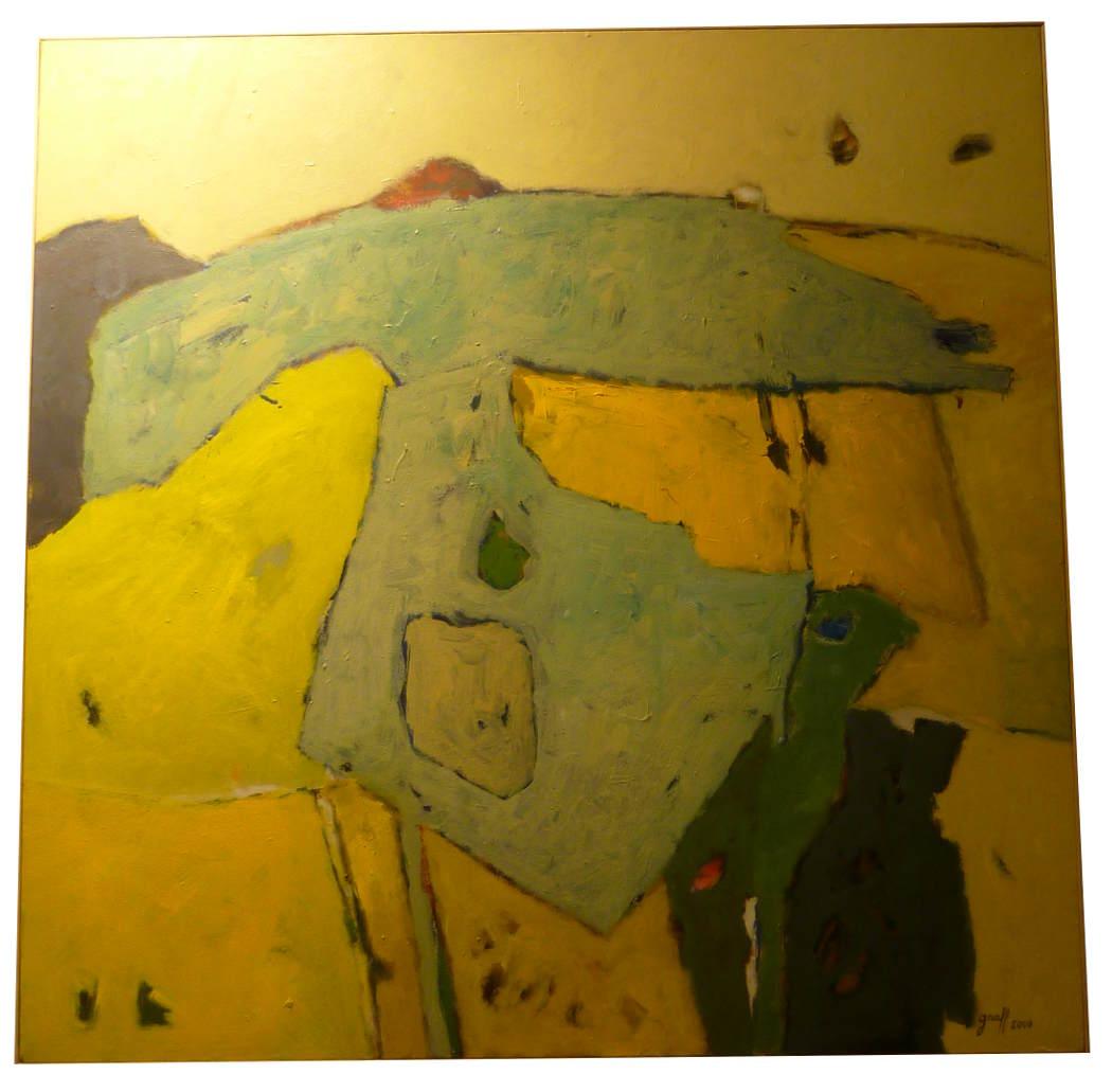 """Michel GRAFF (né en 1938) Artiste Français - """"Terre Amsud"""" 2006"""