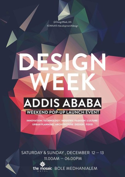 Design Week Addis Ababa Showcasing Ethiopian Contemporary Design