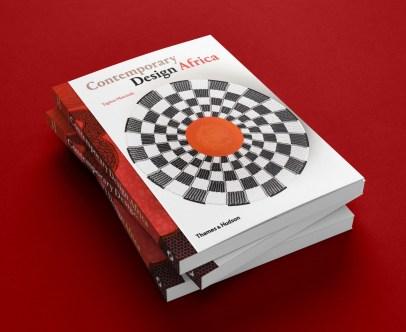 Copies of Contemporary Design Africa Art Book by Tapiwa Matsinde showcasing modern African Interior Decor Accessories