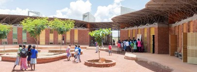 Francis Kere Architect Lycee Schorge Secondary School Burkina Faso The Design Museum Beazly