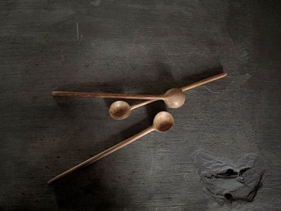 Textile Designer Kirsten Hecktermann Wooden Jam Spoons Hand Carved In Kenya Atelier Fifty Five