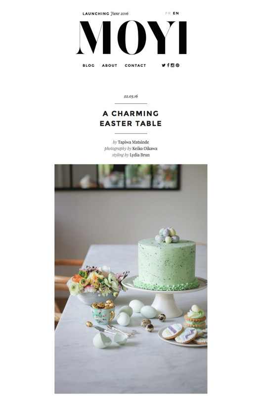 Tapiwa Matsinde Moyi Magazine Cover Autumn Fall 2016 Issue A Charming Easter Table