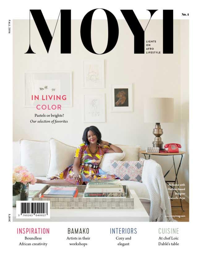 Tapiwa Matsinde Moyi Magazine Cover Autumn Fall 2016 Issue Dani Arps-African Design and Afro Lifestyle