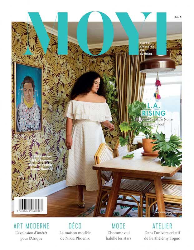 Tapiwa Matsinde Moyi Magazine Cover Spring 2018 Issue Justina Blakeney African Design and Afro Lifestyle