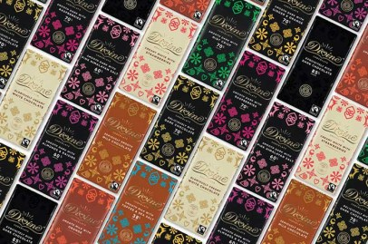 Adinkra Symbols Divine Chocolate Ghana Packaging