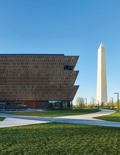 The National Museum of African American History and Culture Architect David Adjaye