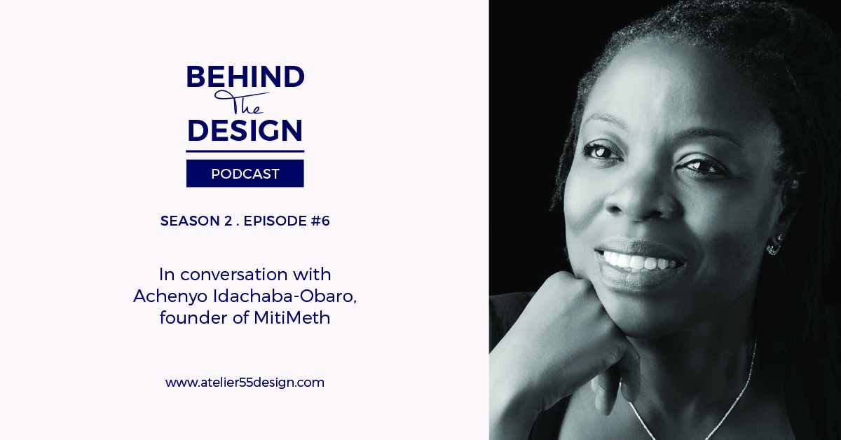 S2 Ep 6 Creating Sustainable Livelihoods Through the Creative Economy with Achenyo Idachaba-Obaro Founder MitiMeth