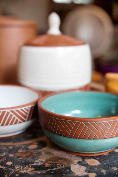 Pottery bowls By Osa Atoe