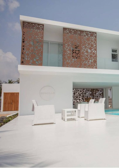 Sencillo a Stylish Minimalist Lagos Beach House