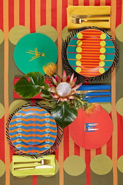 Yinka Ilori Homeware Full Collection Tabletop