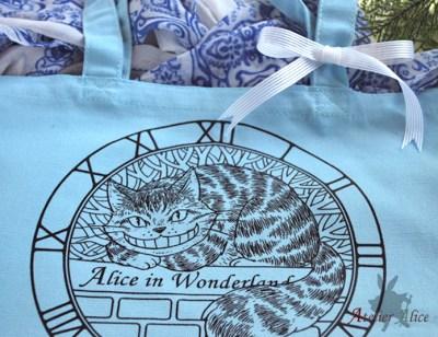 不思議の国のアリス チェシャ猫のトートバッグ