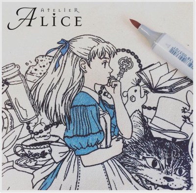 アリスのトートバッグ