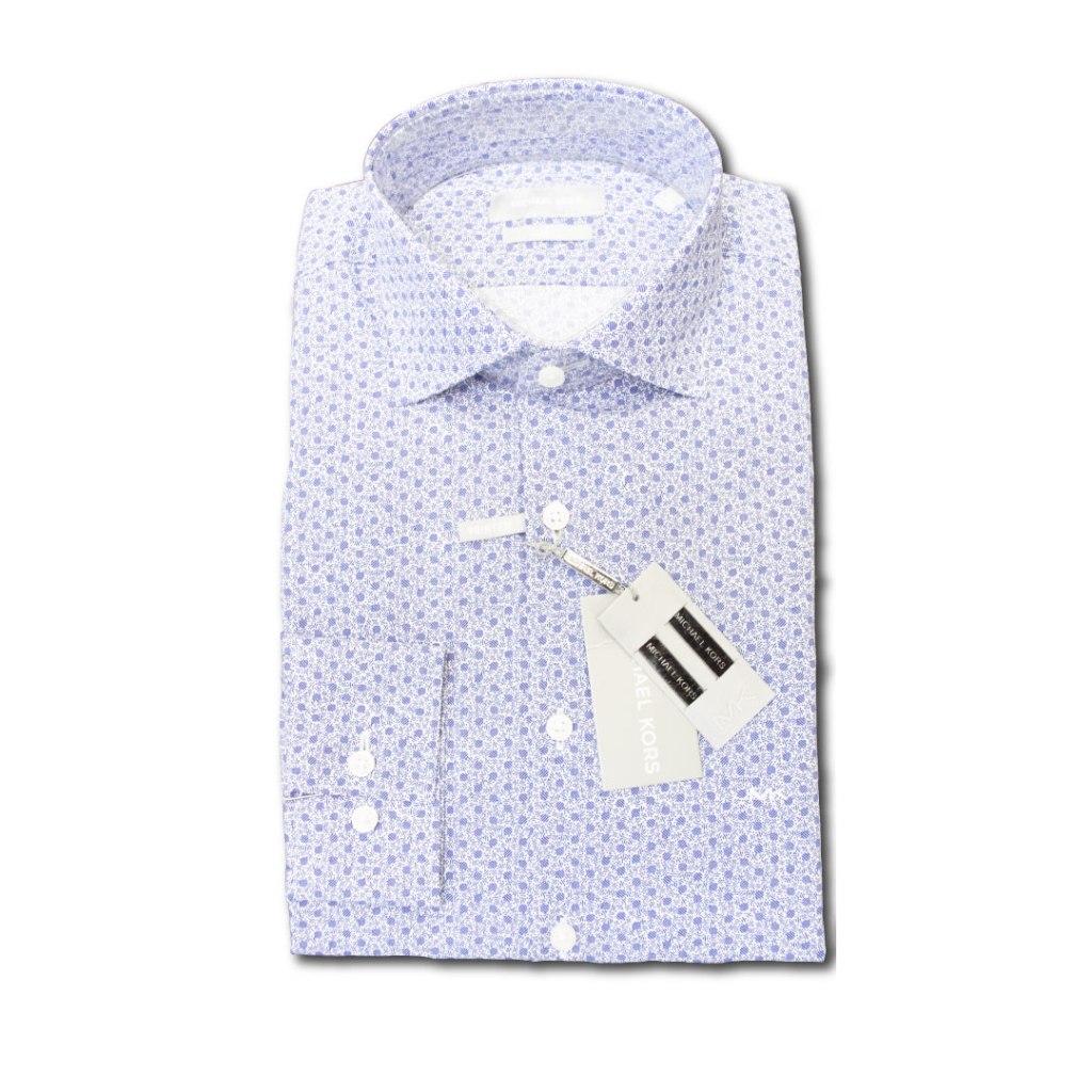 Camicia Michael Kors – Fantasia Blu Cobalto