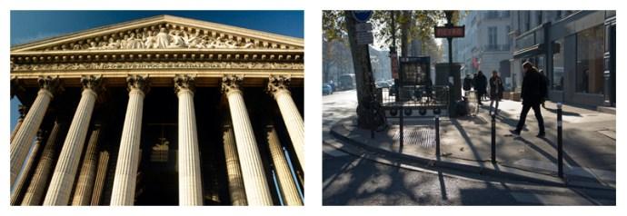 Madeleine and Marais Street Scene