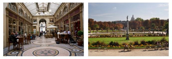 Passage Vivienne and Jardin du Luxembourg