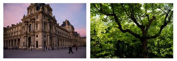 Louvre and Jardin des Plantes