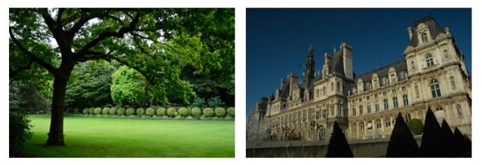 Jardin du Luxembourg and Hôtel de Ville