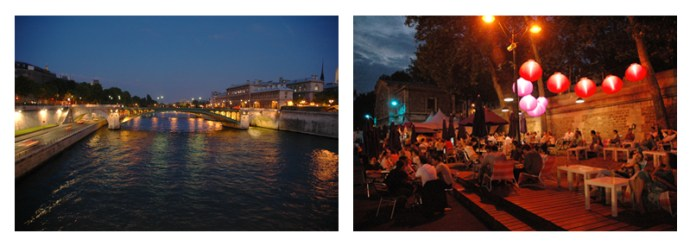 Seine River & Paris Plage