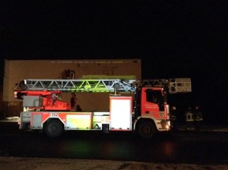 Arrivée des pompiers à 3h30 du matin