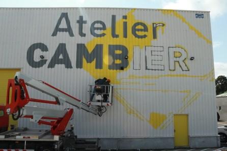 Nouvelle signalétique pour Atelier Cambier