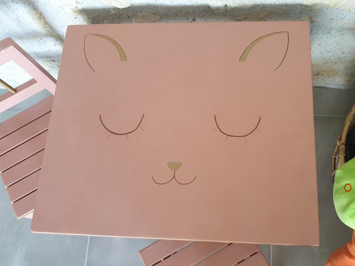 décor tête de chat