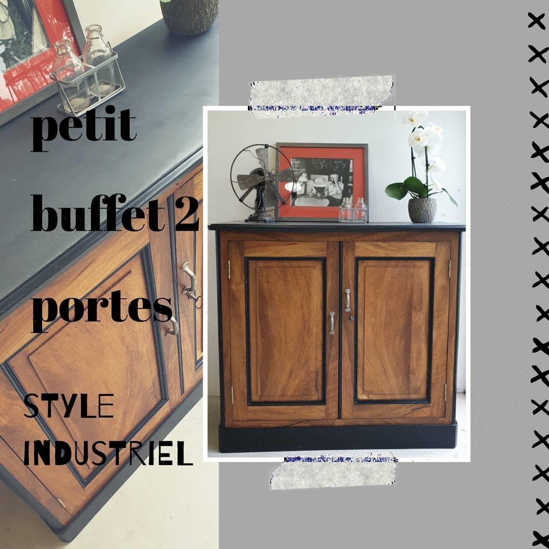 buffet style industriel