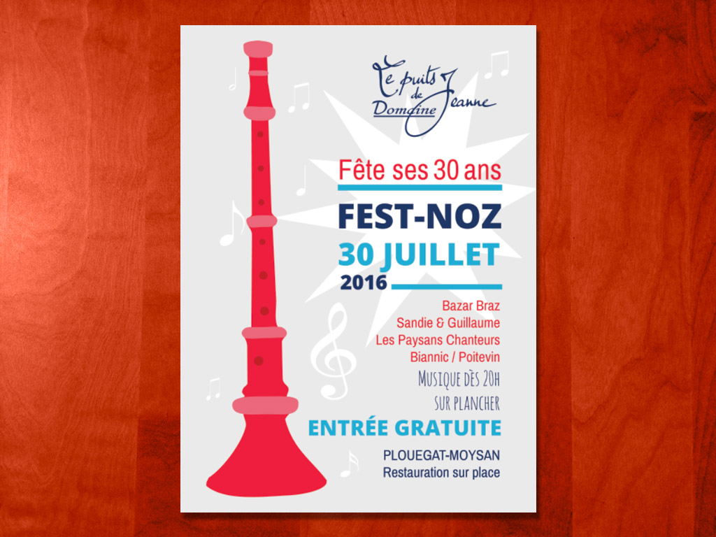 Affiche Fest Noz