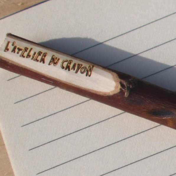 marquage crayon atelier du crayon