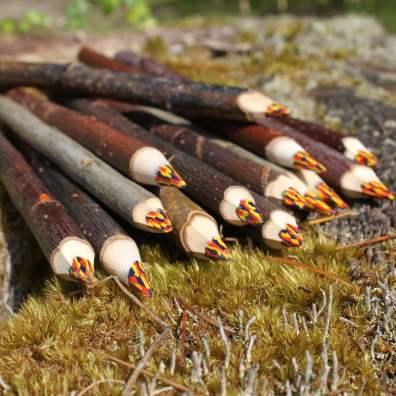 crayons magiques x 5 - au soleil