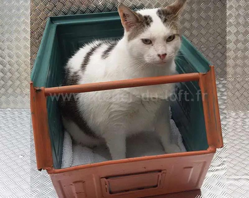 Idée cadeau chat Lit CAT/DOG deco garage