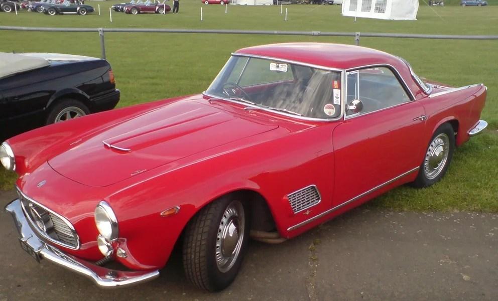 Maserati 3500 GT Touring de 1960, 200 CVet 230 Km/h a été adjugée à 200 000 €.