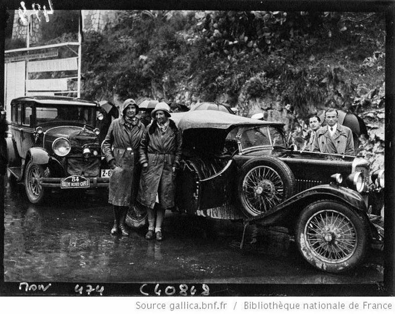 1932 Jean RobertsonCoéquipière avec Joan Richmondà uneépreuve d'endurance débutant en Australiepour se terminerà Monte-Carlo