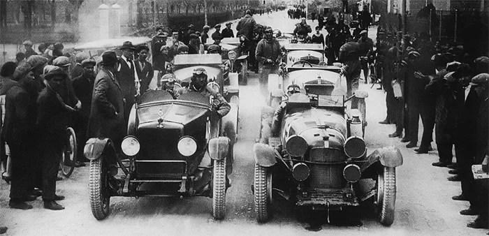 Aylmer Mimi 1929 Mile Miglia Atelier du Loft Mobilier avec pièces auto