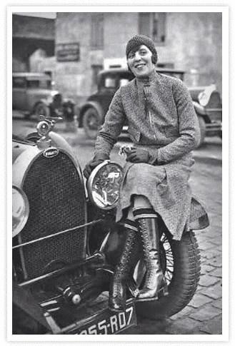 Lucy OReilly-Schell, une des femmes pilotes et propriétaire d'écurie