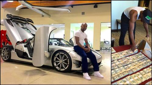 Une voiture luxueuse de Floyd Mayweather vendu 3.7 millions€ sur Ebay