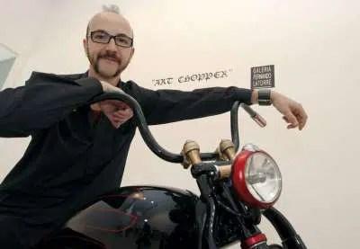 Harley Davidson double Champion du Monde Fernando Ferry Clot
