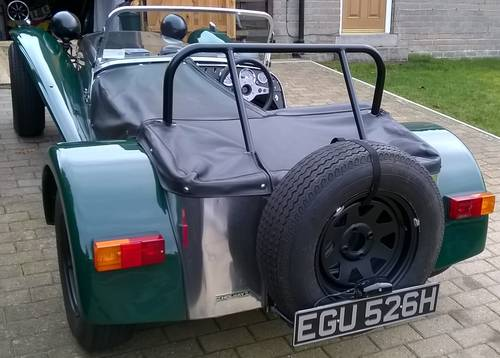 Lotus Seven S4 de Françoise SAGAN vendu aux enchères Atelier du Loft Mobilier avec pièces auto