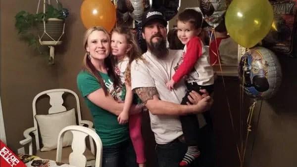 Pat Patterson et sa famille