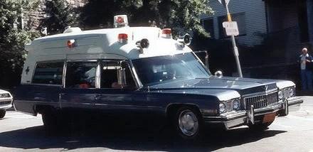 Cadillac Deville Fleetwood 75 ambulance