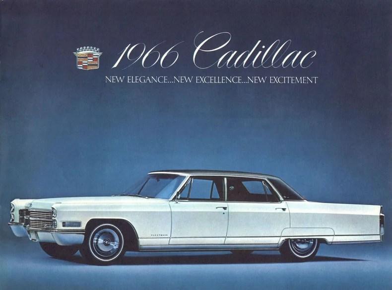 Cadillac Deville Série élégance 1966