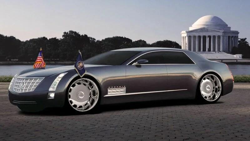 Cadillac sixteen luxe 2003