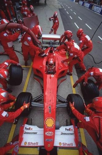 Ferrari F2001 vendue aux enchères 4 millions d'euros Michael Schumacher, Ferrari F2001