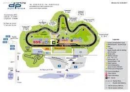 Piloter sa voiture sur circuit Dijon Prenois trac du circuit